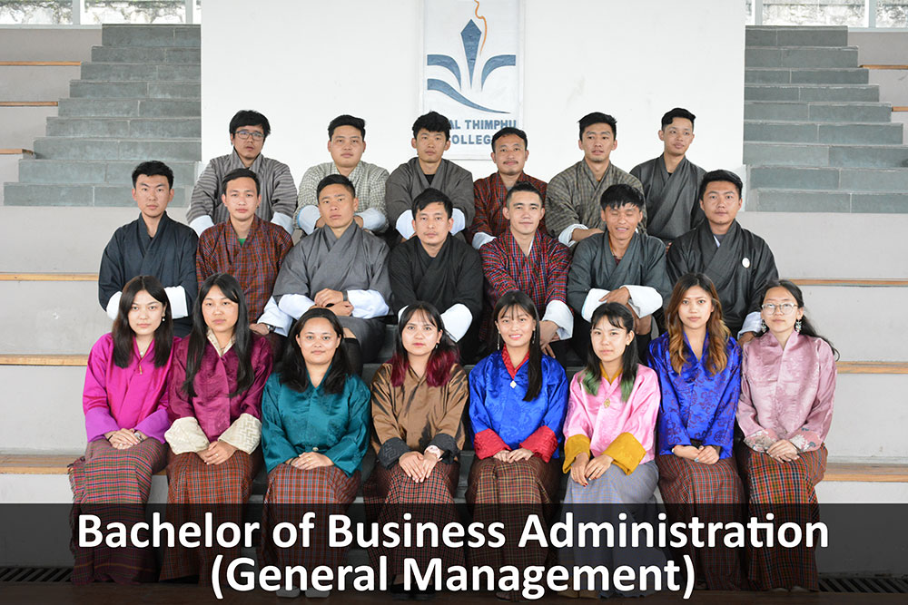 BBA general management