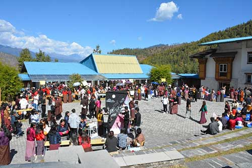 College Fair Celebrating a Decade of Inspiring Education in Bhutan 2 20181109