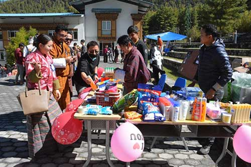 College Fair Celebrating a Decade of Inspiring Education in Bhutan 4 20181109