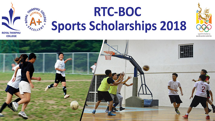 RTC BOC Sports Scholarship 2018