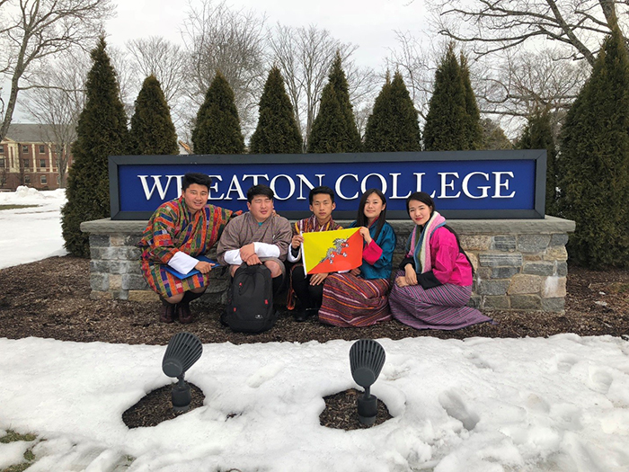 RTC Students at Wheaton College 2018 c